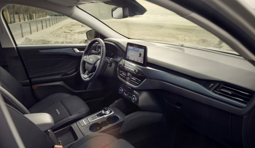 2019 Ford Focus Mk4 debuts – three body-styles, six trim levels, EcoBoost/EcoBlue engines, 8-speed auto Image #805030