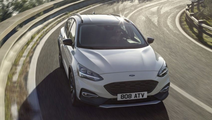2019 Ford Focus Mk4 debuts – three body-styles, six trim levels, EcoBoost/EcoBlue engines, 8-speed auto Image #805034