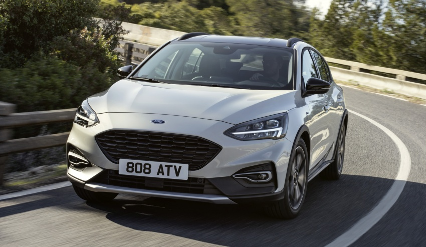 2019 Ford Focus Mk4 debuts – three body-styles, six trim levels, EcoBoost/EcoBlue engines, 8-speed auto Image #805036