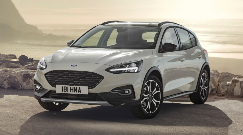 2019 Ford Focus Mk4 debuts – three body-styles, six trim levels, EcoBoost/EcoBlue engines, 8-speed auto Image #805038