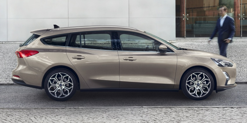2019 Ford Focus Mk4 debuts – three body-styles, six trim levels, EcoBoost/EcoBlue engines, 8-speed auto Image #804953