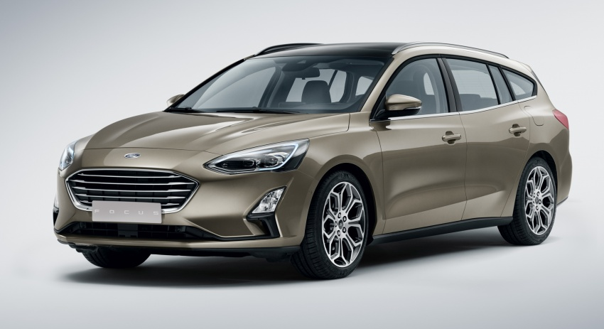 2019 Ford Focus Mk4 debuts – three body-styles, six trim levels, EcoBoost/EcoBlue engines, 8-speed auto Image #804963