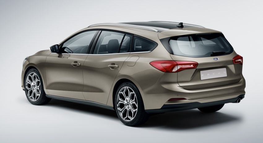 2019 Ford Focus Mk4 debuts – three body-styles, six trim levels, EcoBoost/EcoBlue engines, 8-speed auto Image #804945