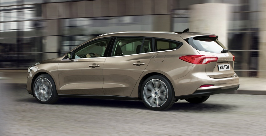 2019 Ford Focus Mk4 debuts – three body-styles, six trim levels, EcoBoost/EcoBlue engines, 8-speed auto Image #804954