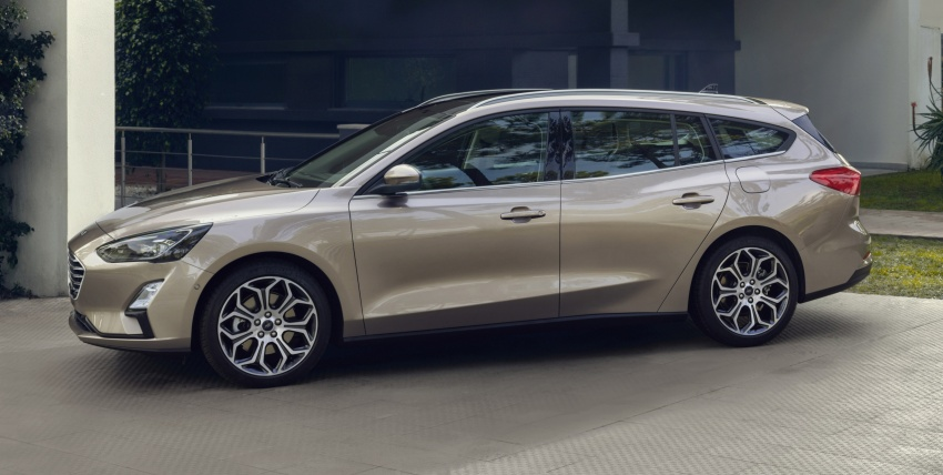 2019 Ford Focus Mk4 debuts – three body-styles, six trim levels, EcoBoost/EcoBlue engines, 8-speed auto Image #804957