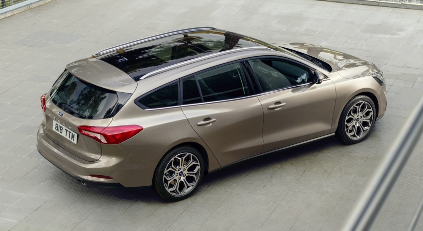 2019 Ford Focus Mk4 debuts – three body-styles, six trim levels, EcoBoost/EcoBlue engines, 8-speed auto Image #804959