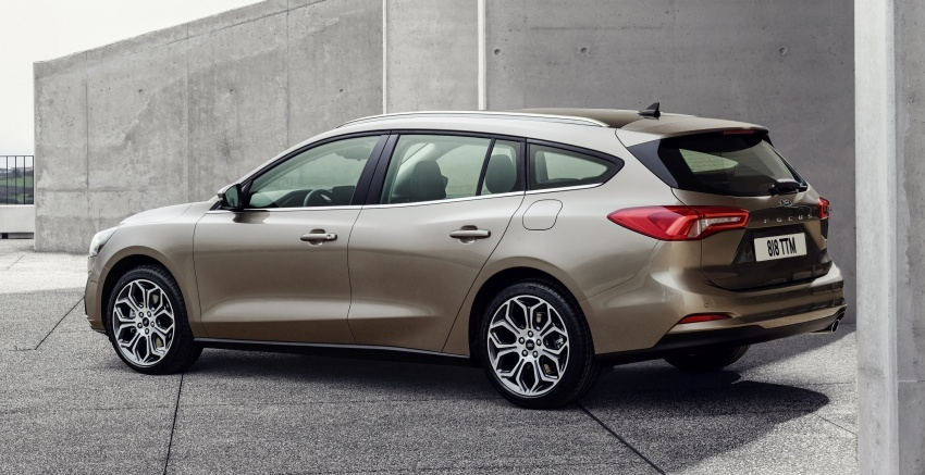 2019 Ford Focus Mk4 debuts – three body-styles, six trim levels, EcoBoost/EcoBlue engines, 8-speed auto Image #804960