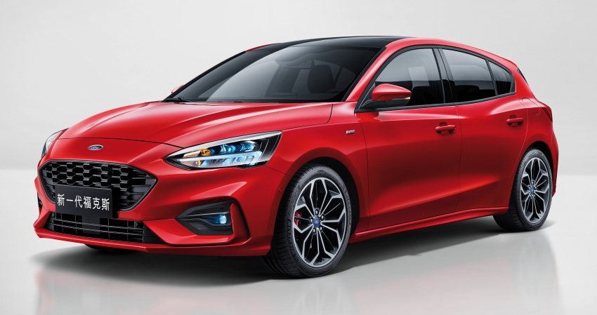2019 Ford Focus Mk4 debuts – three body-styles, six trim levels, EcoBoost/EcoBlue engines, 8-speed auto Image #805026