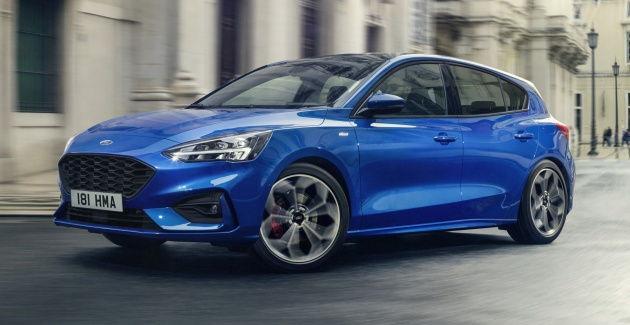 2019 Ford Focus Mk4 debuts - three body-styles, six trim levels