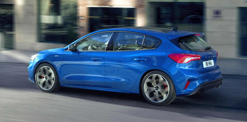 2019 Ford Focus Mk4 debuts – three body-styles, six trim levels, EcoBoost/EcoBlue engines, 8-speed auto Image #804973
