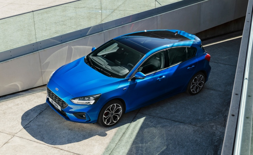 2019 Ford Focus Mk4 debuts – three body-styles, six trim levels, EcoBoost/EcoBlue engines, 8-speed auto Image #804974