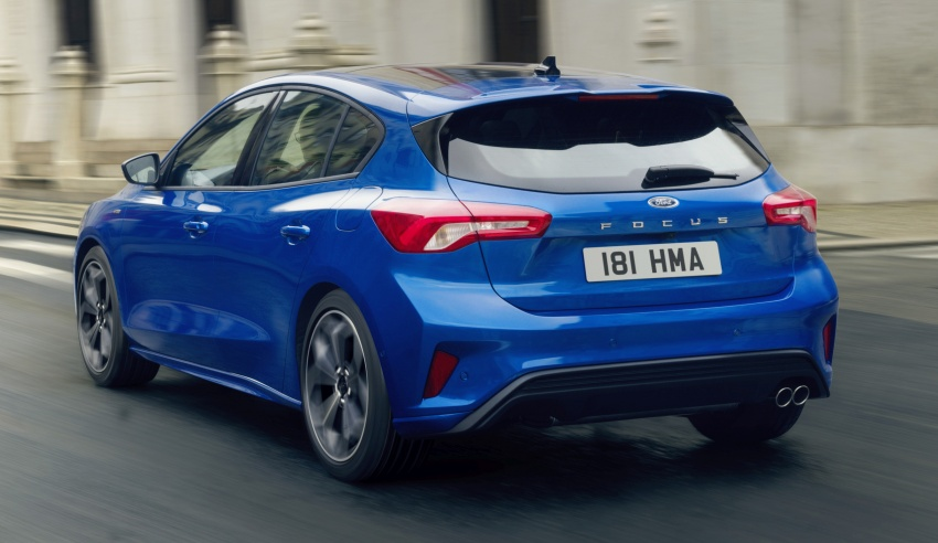 2019 Ford Focus Mk4 debuts – three body-styles, six trim levels, EcoBoost/EcoBlue engines, 8-speed auto Image #804975