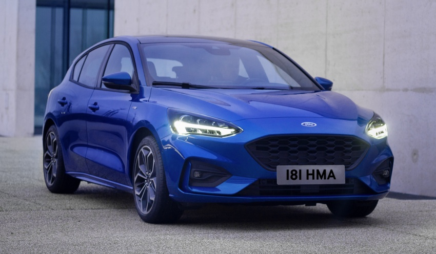 2019 Ford Focus Mk4 debuts – three body-styles, six trim levels, EcoBoost/EcoBlue engines, 8-speed auto Image #804976