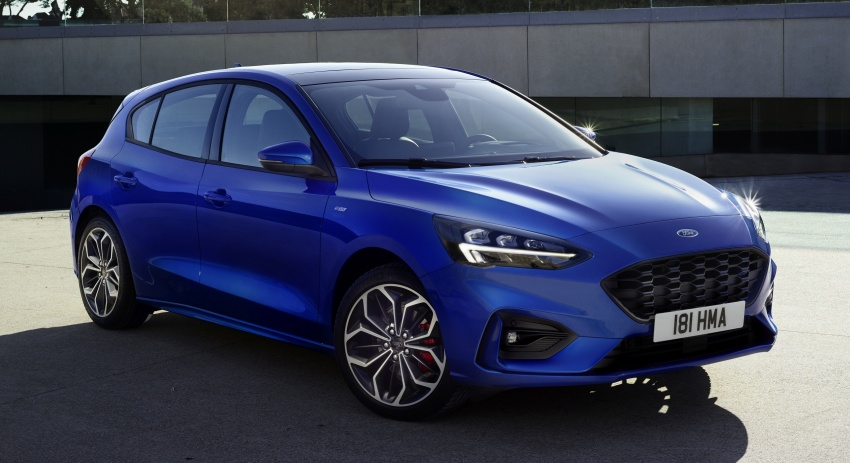 2019 Ford Focus Mk4 debuts – three body-styles, six trim levels, EcoBoost/EcoBlue engines, 8-speed auto Image #804977