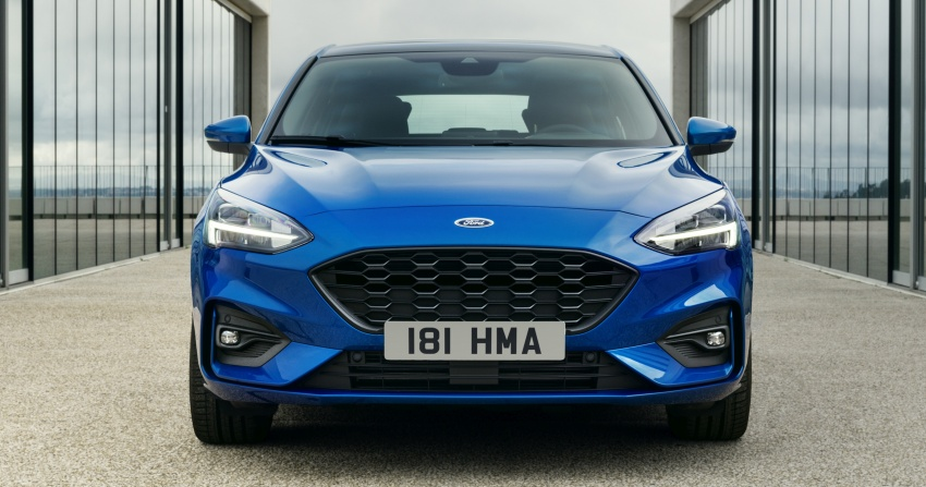 2019 Ford Focus Mk4 debuts – three body-styles, six trim levels, EcoBoost/EcoBlue engines, 8-speed auto Image #804979