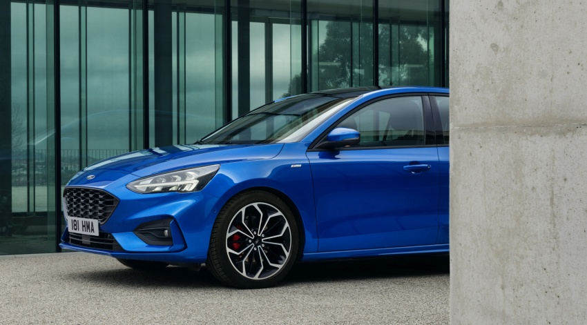 2019 Ford Focus Mk4 debuts – three body-styles, six trim levels, EcoBoost/EcoBlue engines, 8-speed auto Image #804980