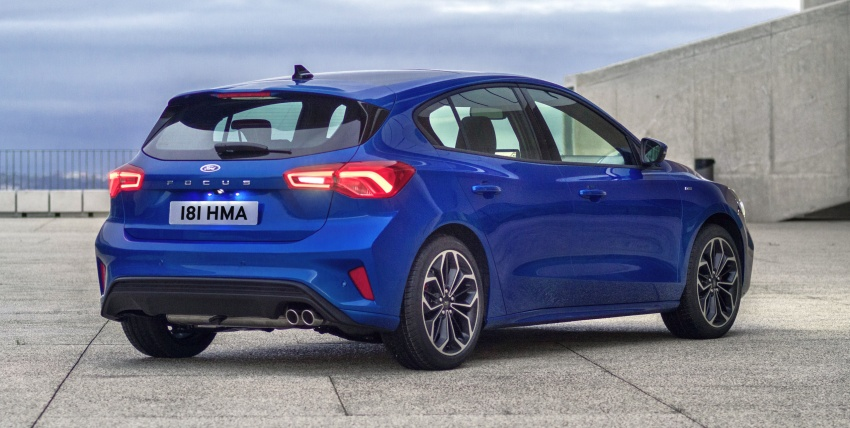 2019 Ford Focus Mk4 debuts – three body-styles, six trim levels, EcoBoost/EcoBlue engines, 8-speed auto Image #804981