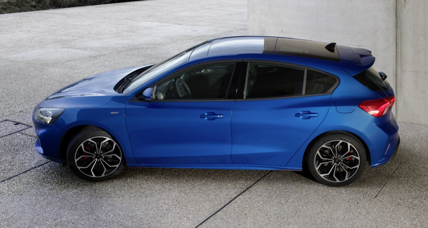 2019 Ford Focus Mk4 debuts – three body-styles, six trim levels, EcoBoost/EcoBlue engines, 8-speed auto Image #804983