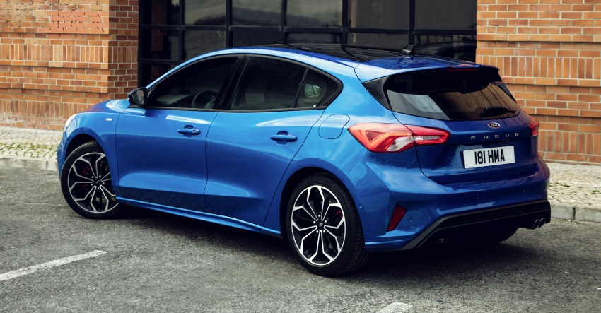 2019 Ford Focus Mk4 debuts – three body-styles, six trim levels, EcoBoost/EcoBlue engines, 8-speed auto Image #804966