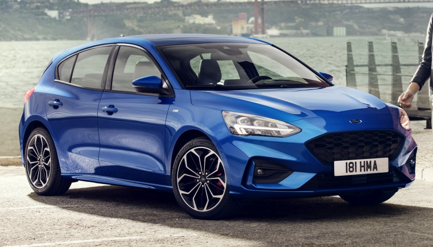 2019 Ford Focus Mk4 debuts – three body-styles, six trim levels, EcoBoost/EcoBlue engines, 8-speed auto Image #804968