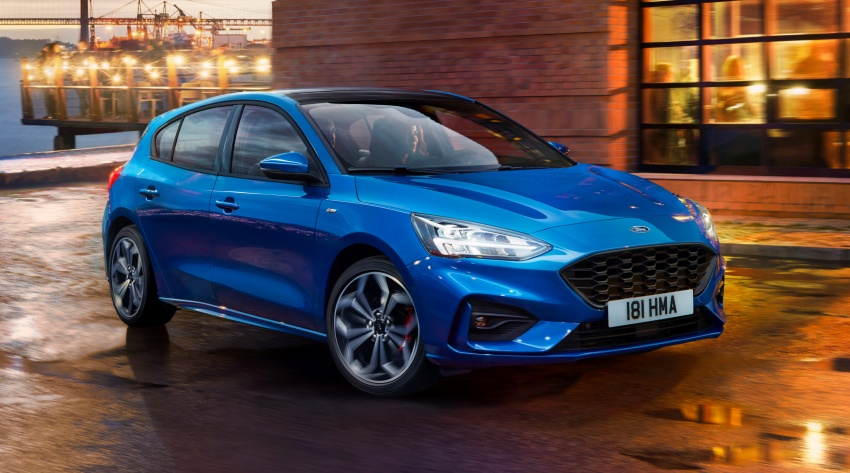 2019 Ford Focus Mk4 debuts – three body-styles, six trim levels, EcoBoost/EcoBlue engines, 8-speed auto Image #804969