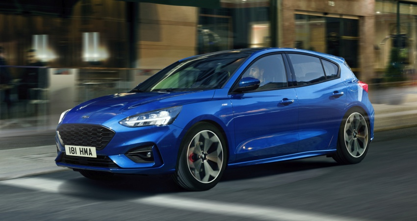 2019 Ford Focus Mk4 debuts – three body-styles, six trim levels, EcoBoost/EcoBlue engines, 8-speed auto Image #804971