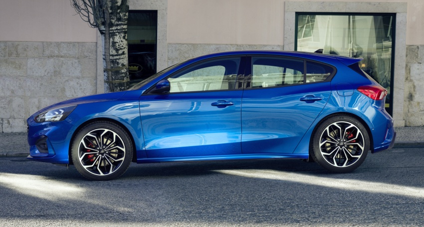2019 Ford Focus Mk4 debuts – three body-styles, six trim levels, EcoBoost/EcoBlue engines, 8-speed auto Image #804972