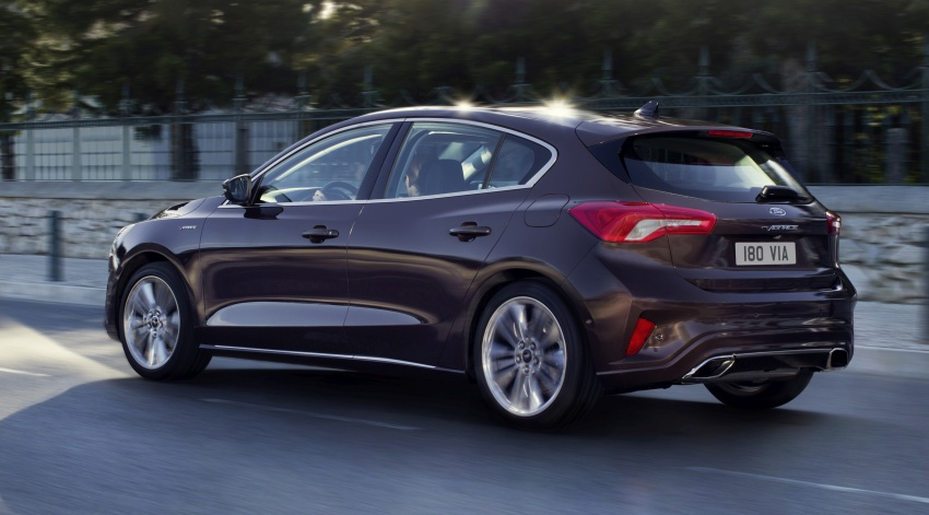 2019 Ford Focus Mk4 debuts – three body-styles, six trim levels, EcoBoost/EcoBlue engines, 8-speed auto Image #804995