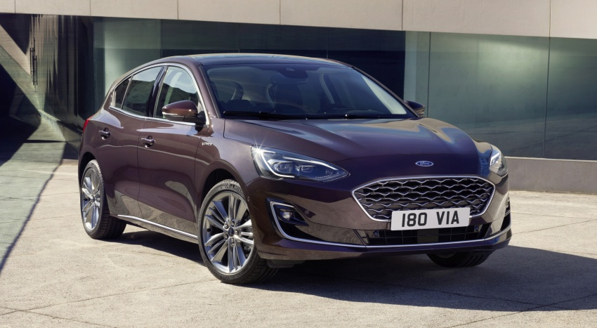 2019 Ford Focus Mk4 debuts – three body-styles, six trim levels, EcoBoost/EcoBlue engines, 8-speed auto Image #805000
