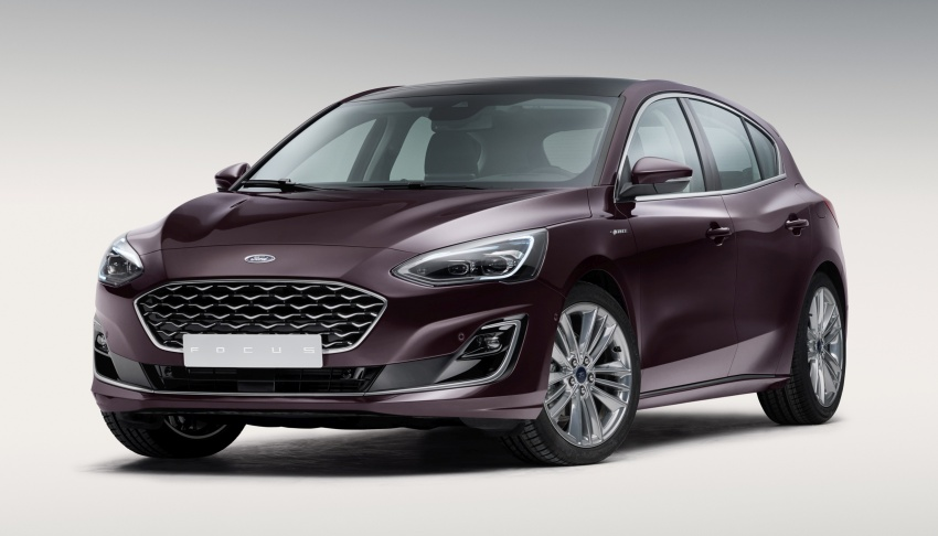 2019 Ford Focus Mk4 debuts – three body-styles, six trim levels, EcoBoost/EcoBlue engines, 8-speed auto Image #805003