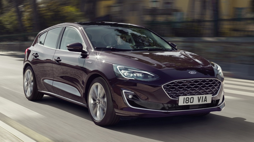 2019 Ford Focus Mk4 debuts – three body-styles, six trim levels, EcoBoost/EcoBlue engines, 8-speed auto Image #804989