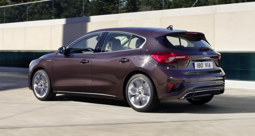 2019 Ford Focus Mk4 debuts – three body-styles, six trim levels, EcoBoost/EcoBlue engines, 8-speed auto Image #804994
