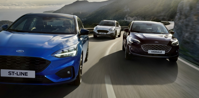 2019 Ford Focus Mk4 debuts – three body-styles, six trim levels, EcoBoost/EcoBlue engines, 8-speed auto Image #805027