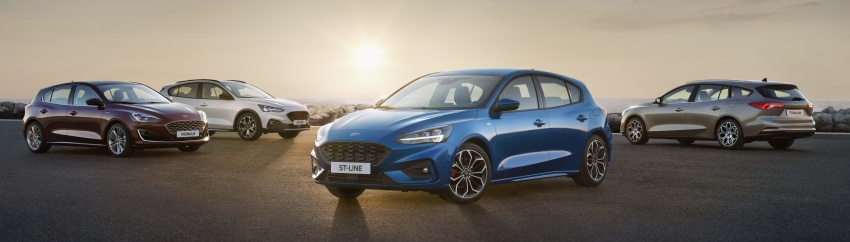 2019 Ford Focus Mk4 debuts – three body-styles, six trim levels, EcoBoost/EcoBlue engines, 8-speed auto Image #805028