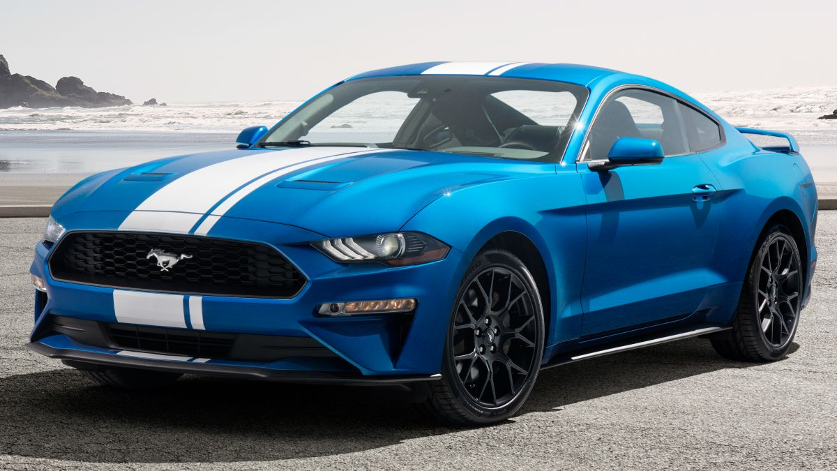 ford mustang ecoboost  fully active exhaust