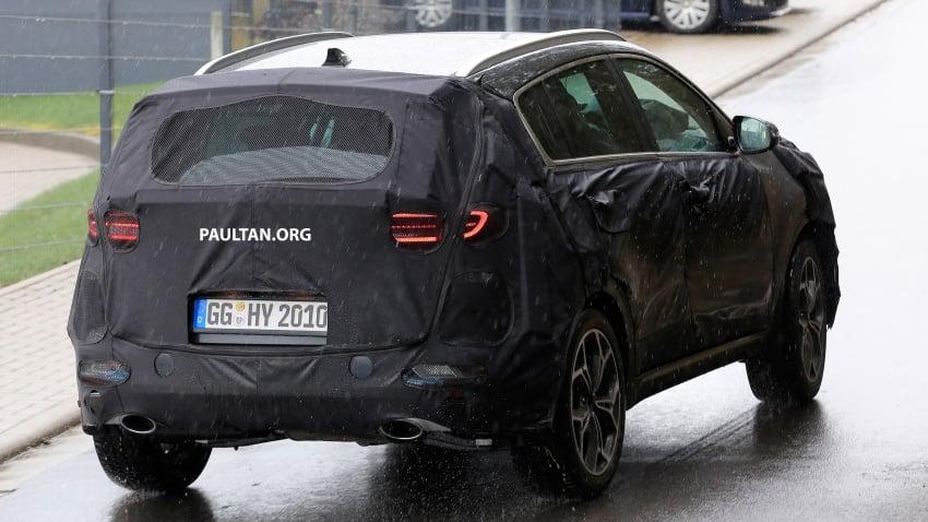 SPIED: Kia Sportage facelift seen near the Nurburgring Image #807793