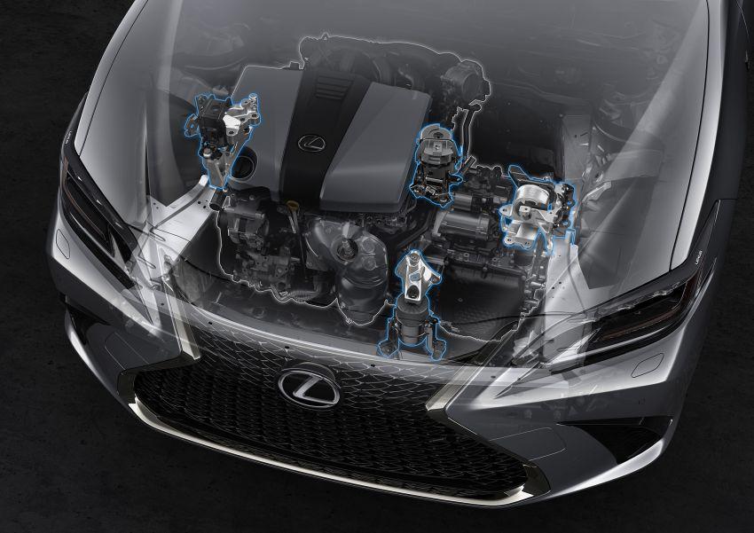 2019 Lexus ES debuts in Beijing – TNGA platform, hybrid and petrol powertrains, F Sport package Image #810878