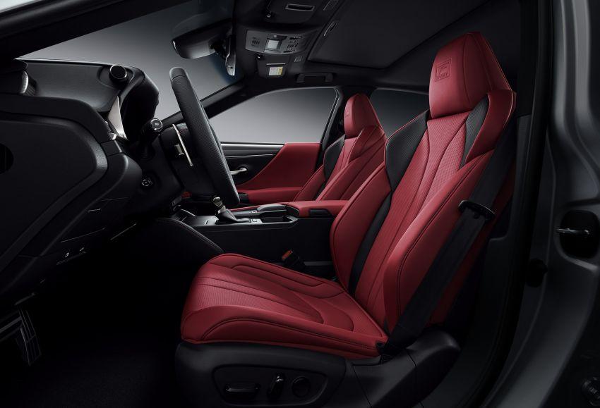 2019 Lexus ES debuts in Beijing – TNGA platform, hybrid and petrol powertrains, F Sport package Image #810855