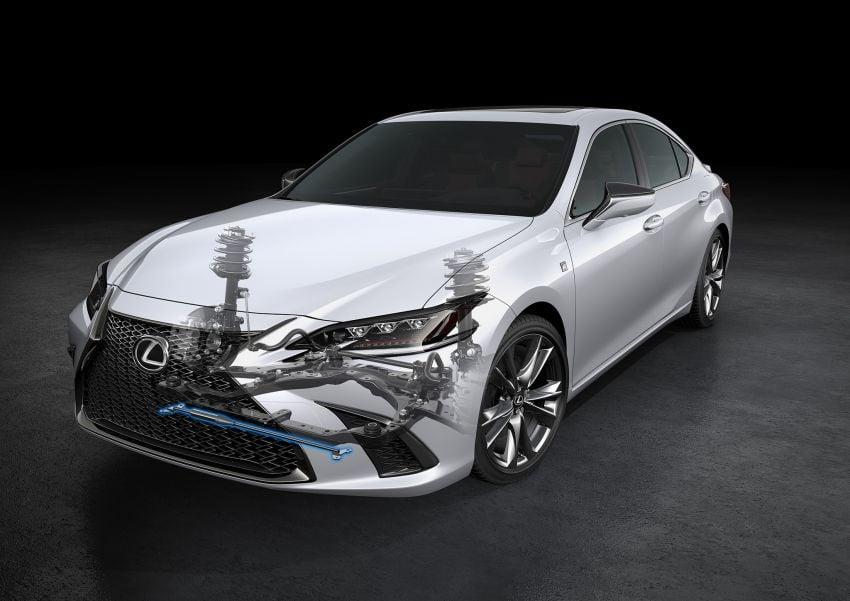 2019 Lexus ES debuts in Beijing – TNGA platform, hybrid and petrol powertrains, F Sport package Image #810857