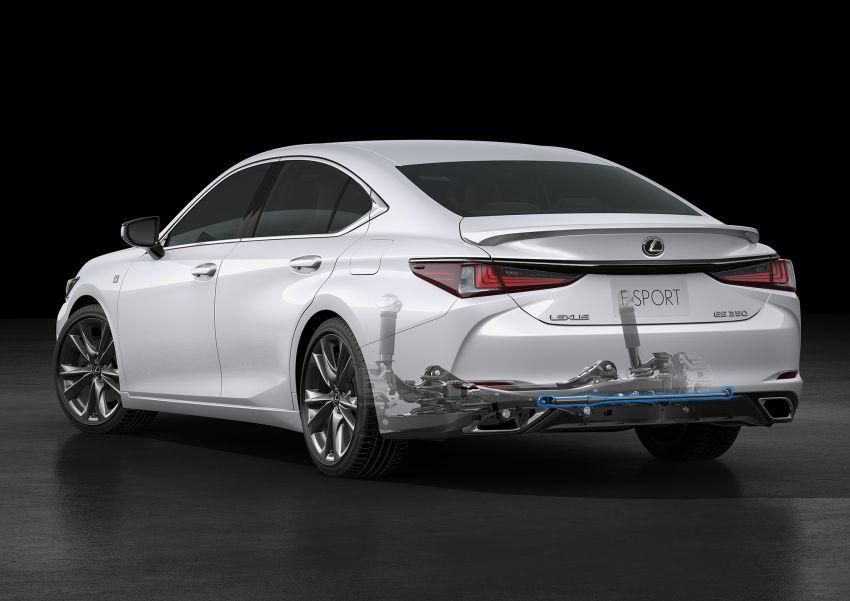 2019 Lexus ES debuts in Beijing – TNGA platform, hybrid and petrol powertrains, F Sport package Image #810858