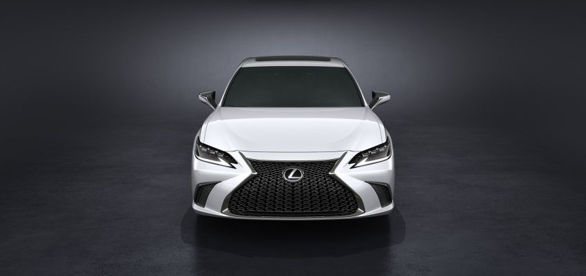 2019 Lexus ES debuts in Beijing – TNGA platform, hybrid and petrol powertrains, F Sport package Image #810842