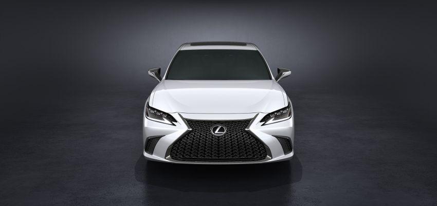 2019 Lexus ES debuts in Beijing – TNGA platform, hybrid and petrol powertrains, F Sport package Image #810842