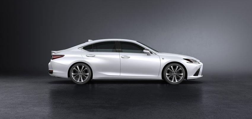 2019 Lexus ES debuts in Beijing – TNGA platform, hybrid and petrol powertrains, F Sport package Image #810843