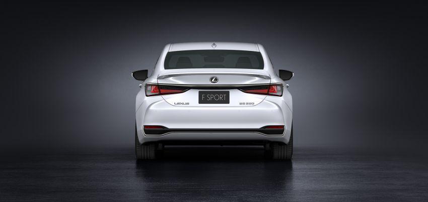 2019 Lexus ES debuts in Beijing – TNGA platform, hybrid and petrol powertrains, F Sport package Image #810844