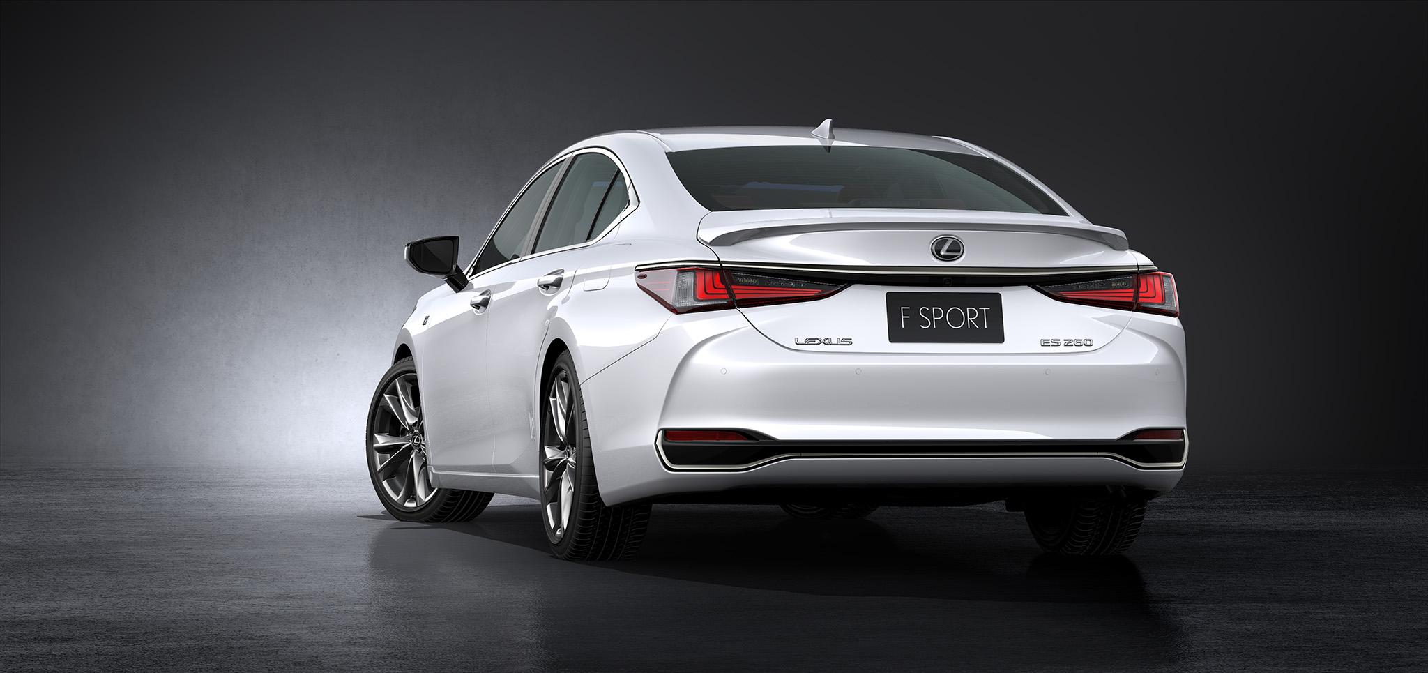 2019 Lexus ES debuts in Beijing – TNGA platform, hybrid ...