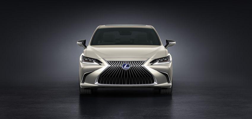 2019 Lexus ES debuts in Beijing – TNGA platform, hybrid and petrol powertrains, F Sport package Image #810791