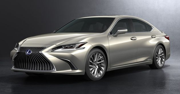 2019 lexus es debuts in beijing tnga platform hybrid. Black Bedroom Furniture Sets. Home Design Ideas
