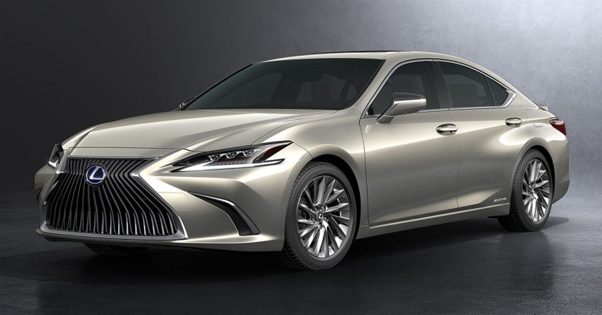 2019 Lexus ES debuts in Beijing – TNGA platform, hybrid and petrol powertrains, F Sport package Image #810795
