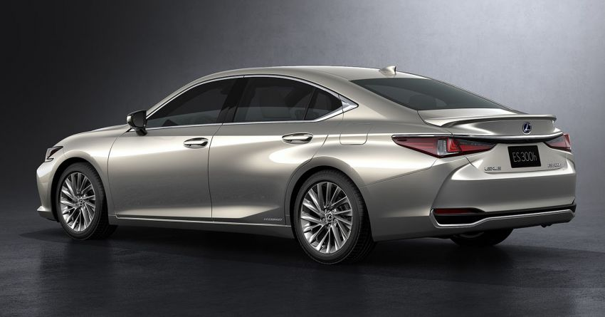 2019 Lexus ES debuts in Beijing – TNGA platform, hybrid and petrol powertrains, F Sport package Image #810796