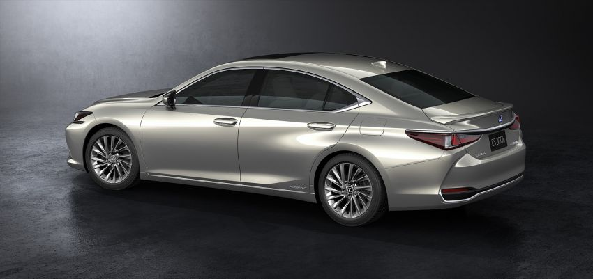 2019 Lexus ES debuts in Beijing – TNGA platform, hybrid and petrol powertrains, F Sport package Image #810798